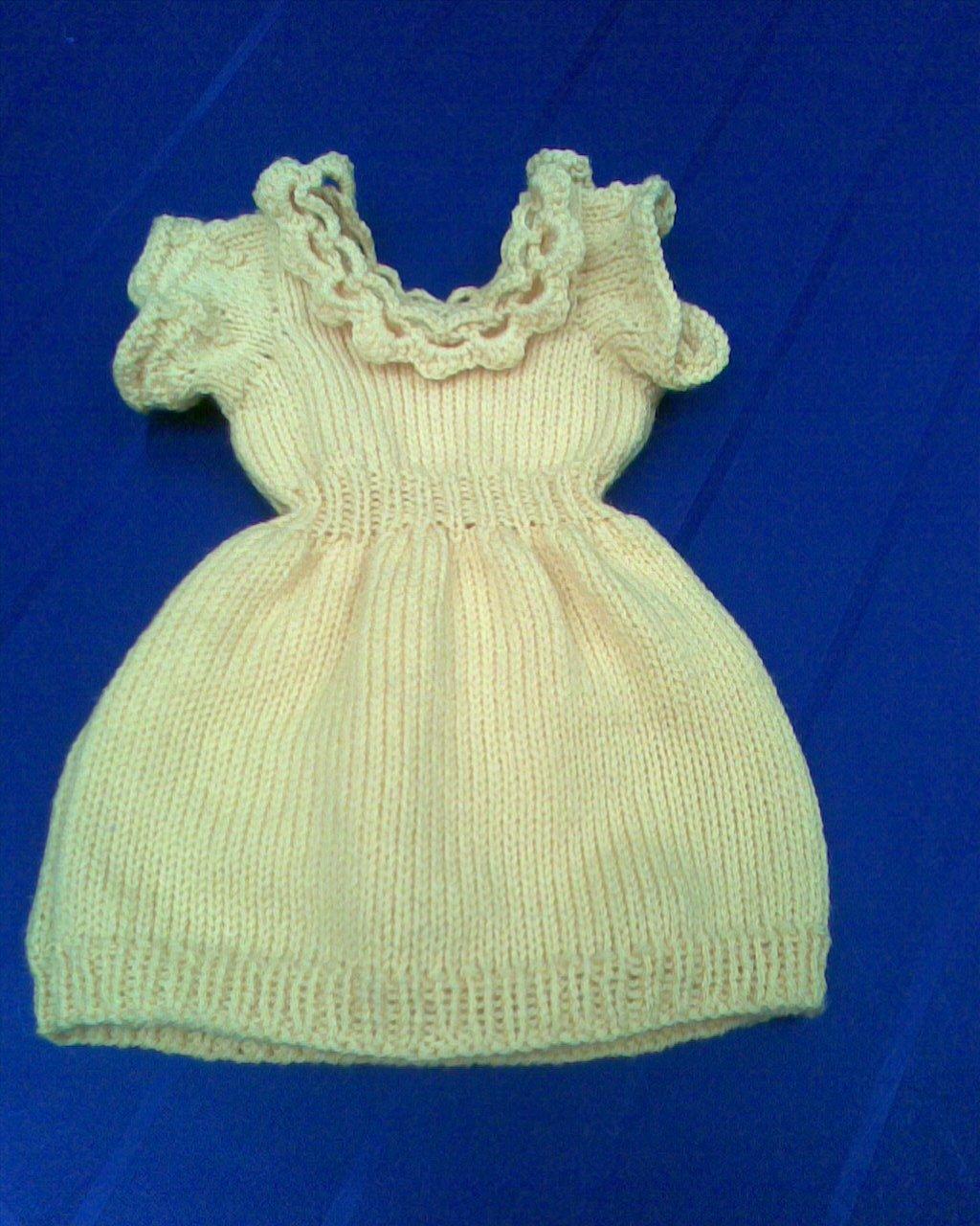 jolie robe jaune 0 - 3 mois